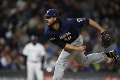 Brewers reliever Ray Black