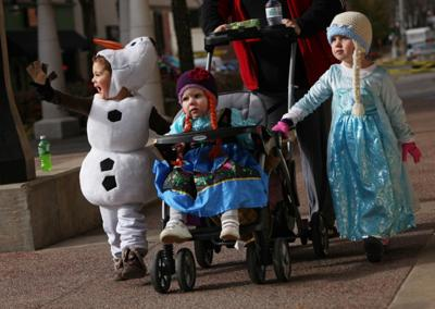 What are the chances of a snowy Halloween?