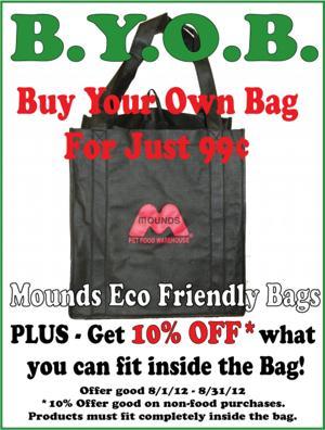 Get a Mounds Eco Friendly Bag