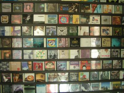 Smart Studios CD Wall