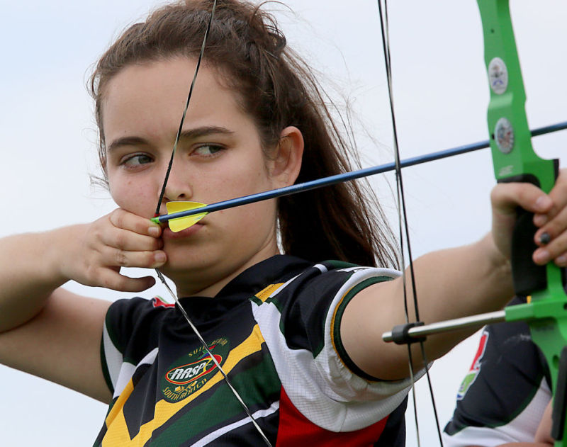 Archers come from around world to compete in tournament