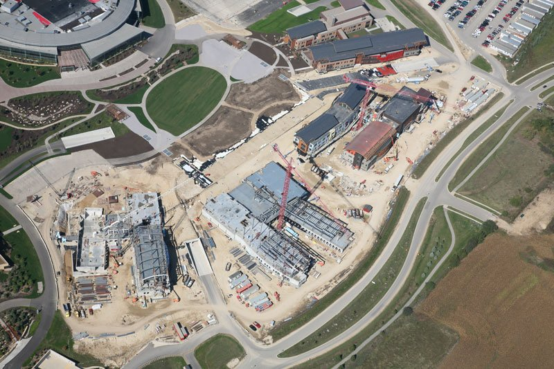 Epic Systems aerial views
