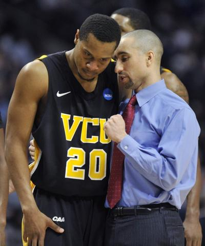 Shaka Smart, Bradford Burgess, VCU vs. Georgetown, NCAA men's basketball