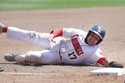 Prep baseball photo: Sun Prairie's Liam Moreno