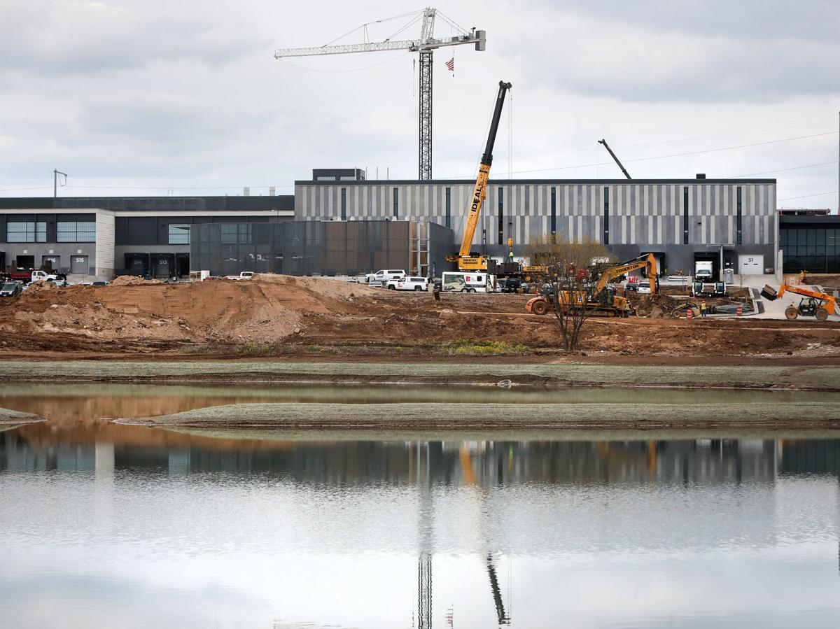 Exact Sciences lab under construction May 2019, State Journal photo