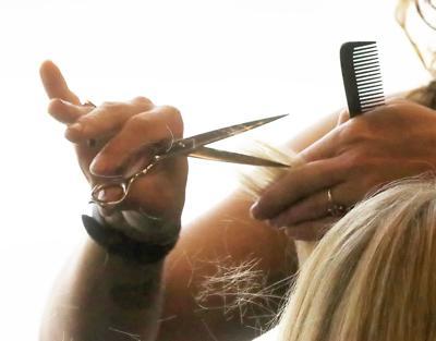 Getting a cut
