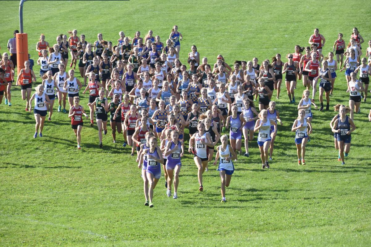 Prep cross country photos: Start of the 2019 Verona Invitational