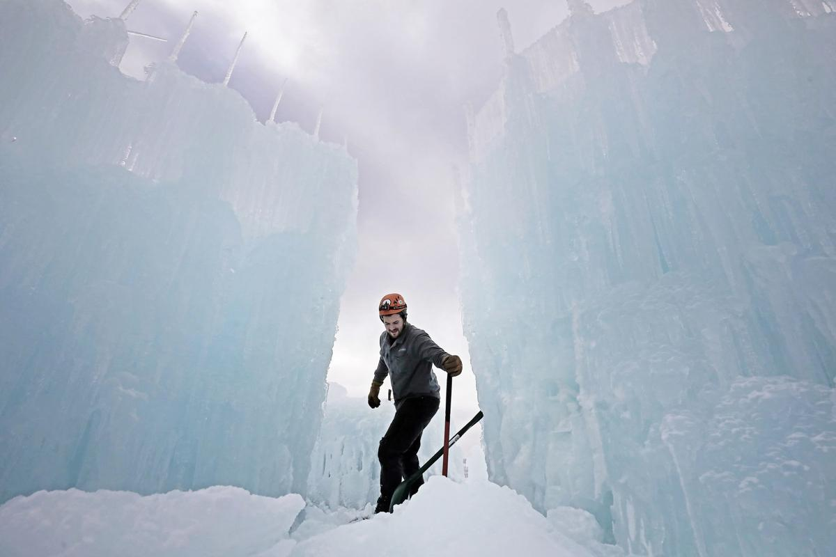 The First Wisconsin Dells Ice Castle