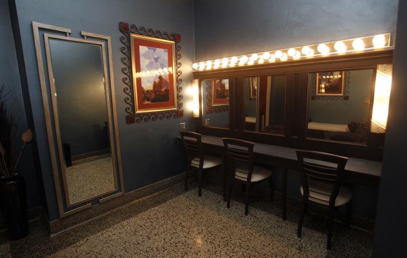 Madison Masonic Center ladies' lounge