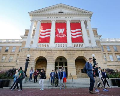 Branding Bascom Hall With Big Red W >> Uw Madison Launching Major Fundraising Campaign Higher Education