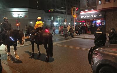 Madison police on patrol University Avenue