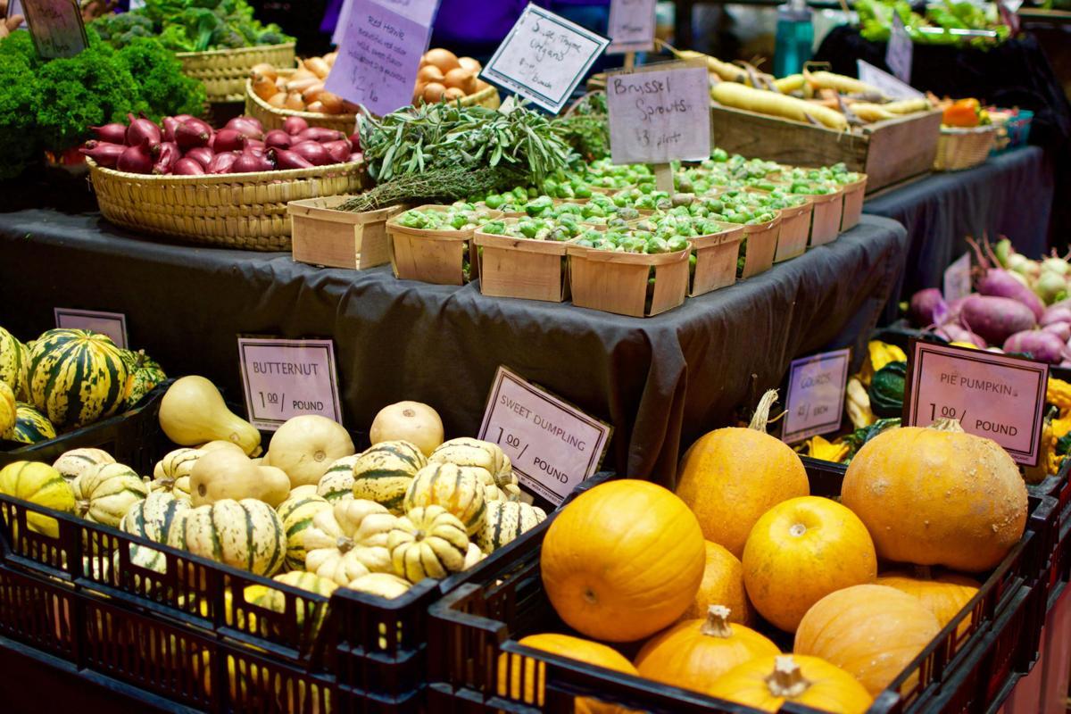 Holiday Market vegetables