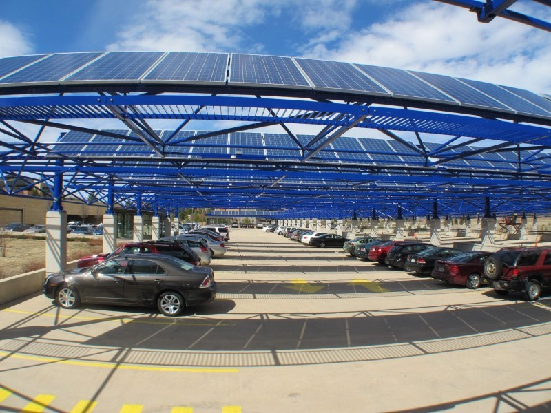 Epic Systems solar panels
