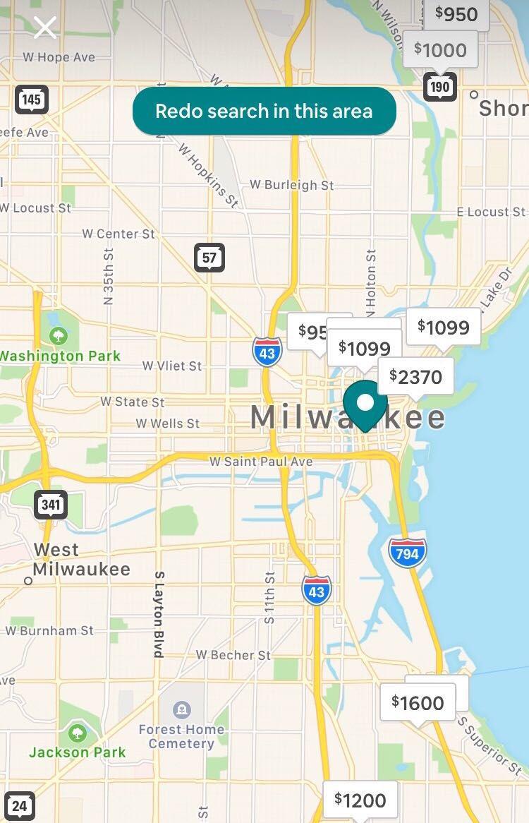Airbnb Milwaukee
