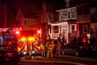 Fire on Franklin Street
