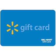 Walmart gift card file photo