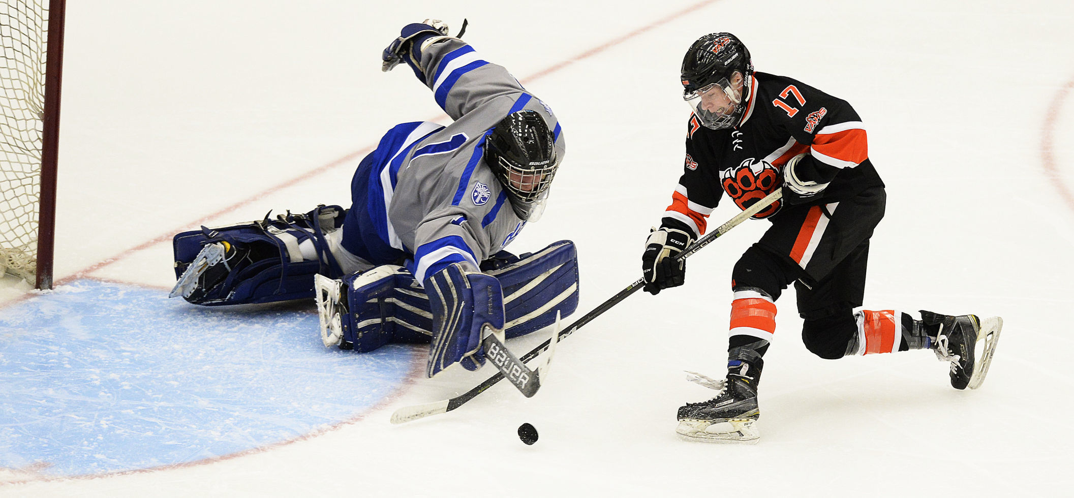 Boys hockey photo: Verona's Mack Keryluk