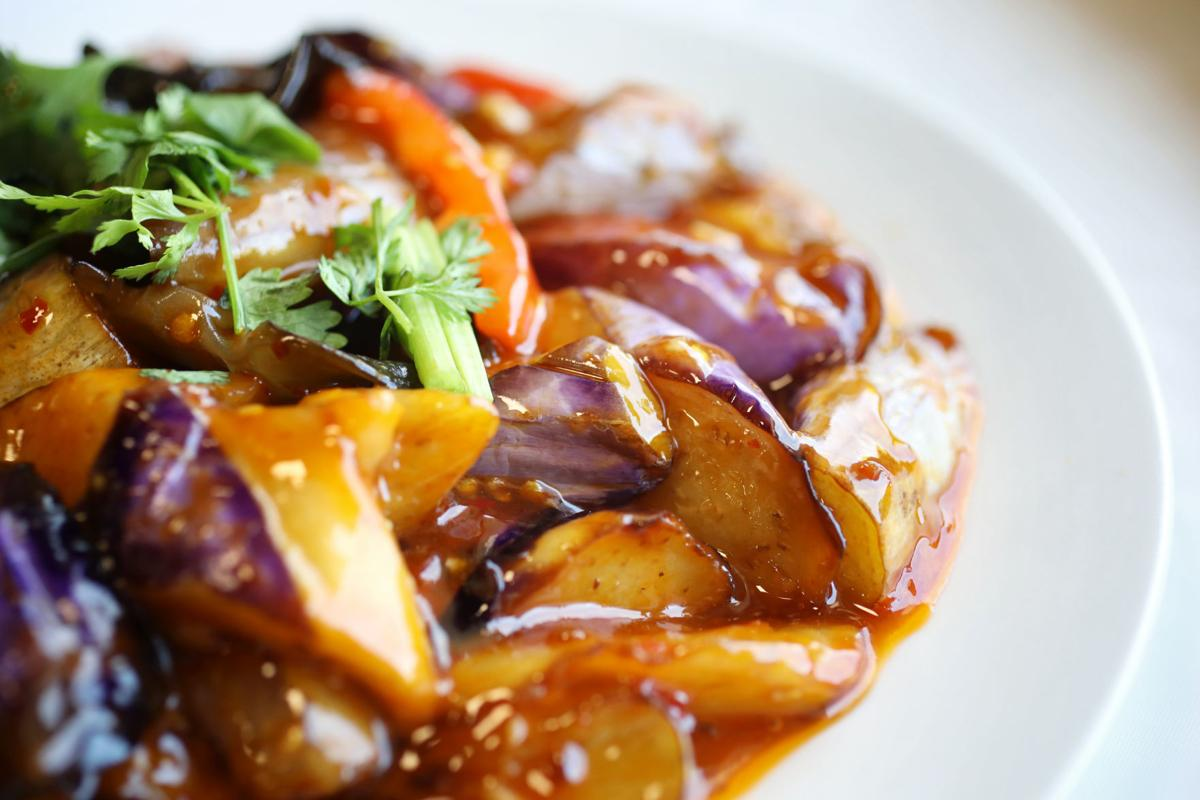 Szechuan Garden eggplant