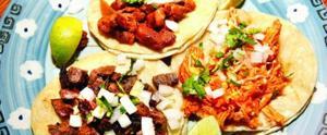 La Mestiza trio de tacos