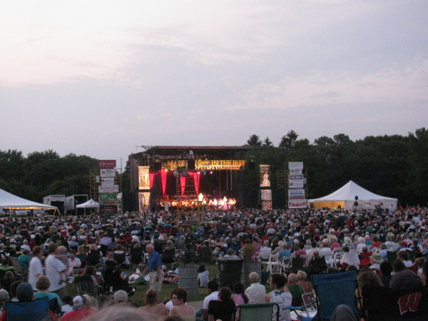 Opera in the Park 2011 view from cheap seats