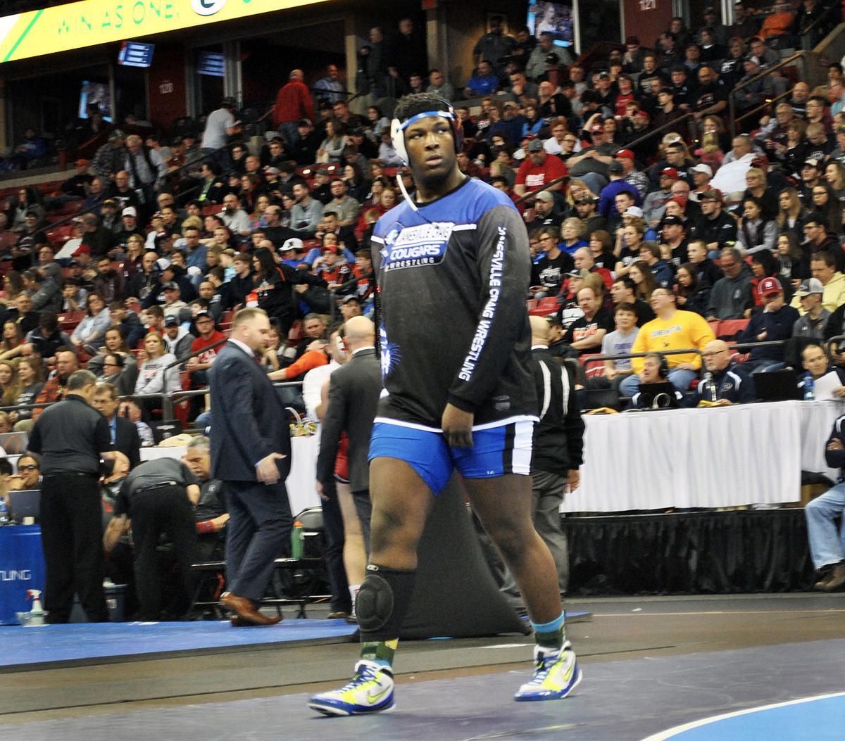 Janesville Craig wrestler Keeanu Benton