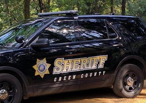 Green County squad car tight crop