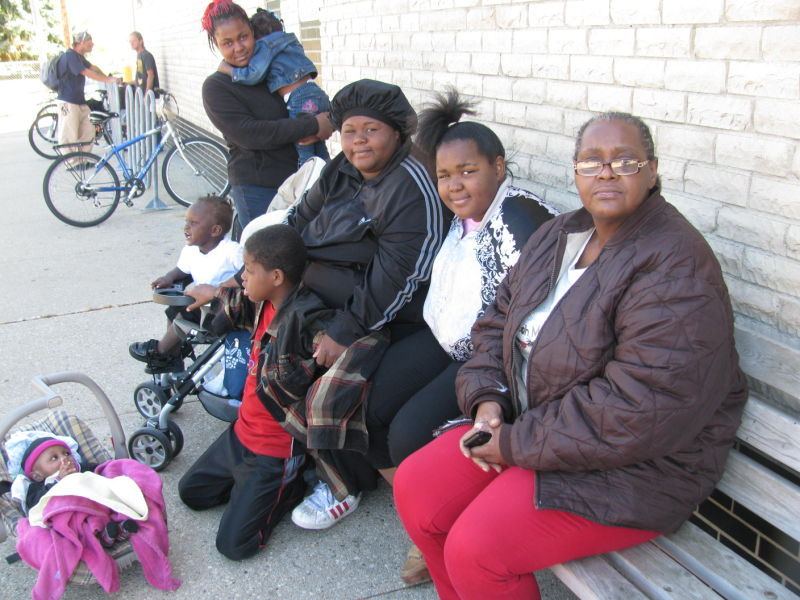 Lisa Bullock and family