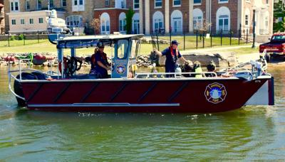Madison Fire Department Lake Rescue Team boat 1