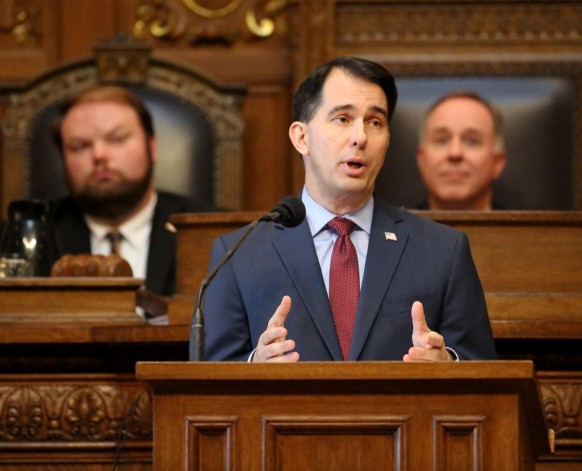 Scott Walker's budget includes nearly $600 million in tax