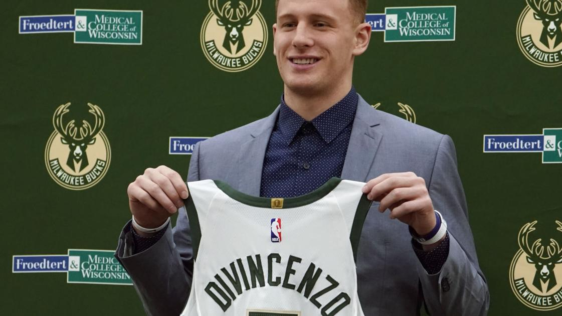 c1c8974eb63 Bench role no problem for Bucks first-round pick Donte DiVincenzo ...
