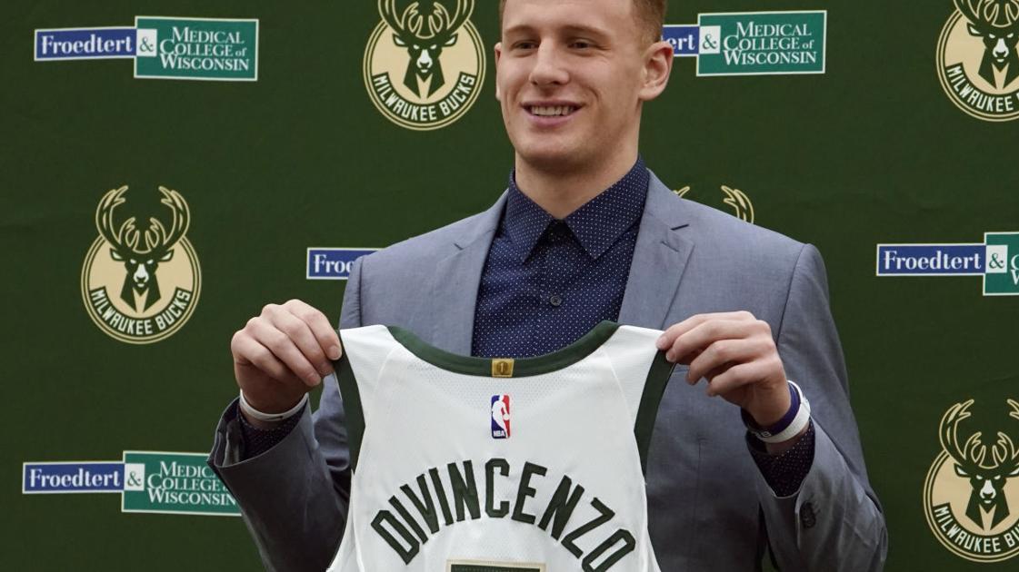 0623791c57e Bench role no problem for Bucks first-round pick Donte DiVincenzo |  Basketball | madison.com