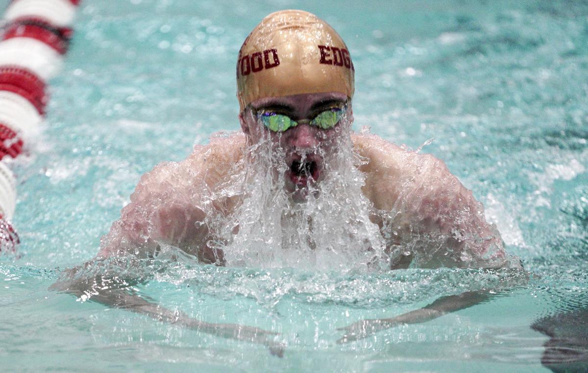 WIAA state boys swimming photo: Madison Edgewood's Truman te Duits