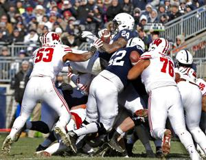 Solid defensive effort not enough to propel Badgers past Nittany Lions