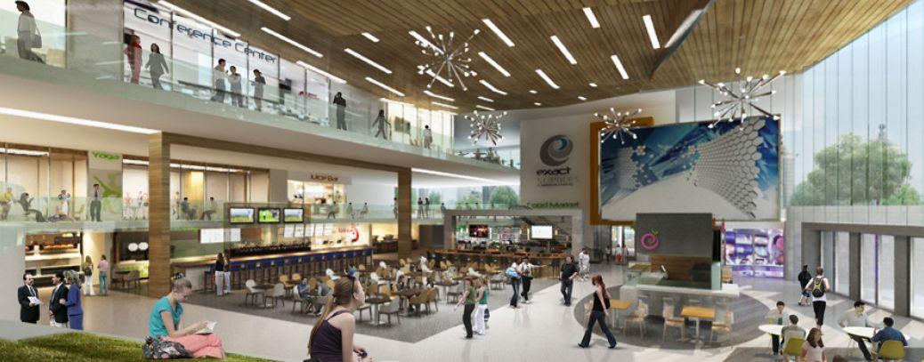 Judge Doyle Square Civic Core rendering