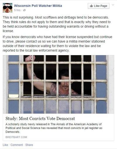 Wi Poll Watchers Militia
