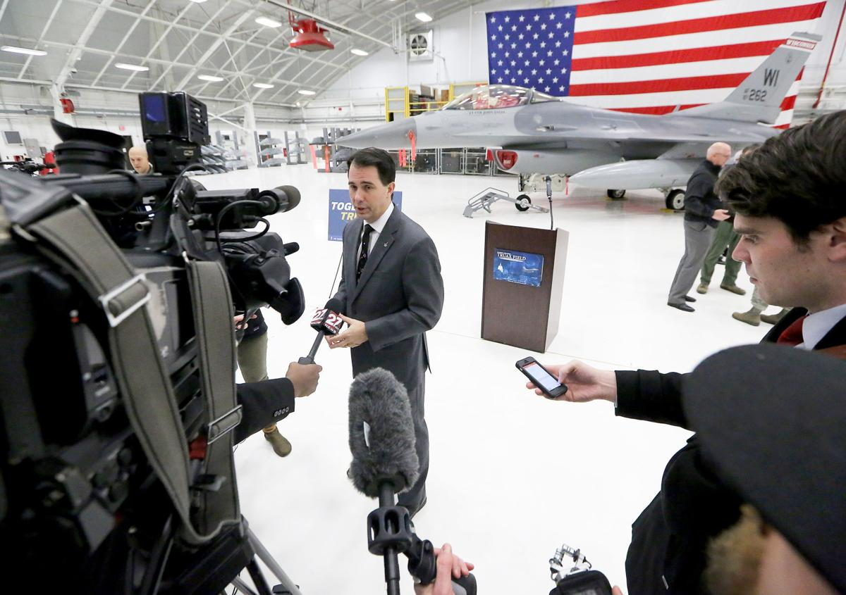 Scott Walker's flights