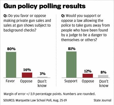 Gun policy poll