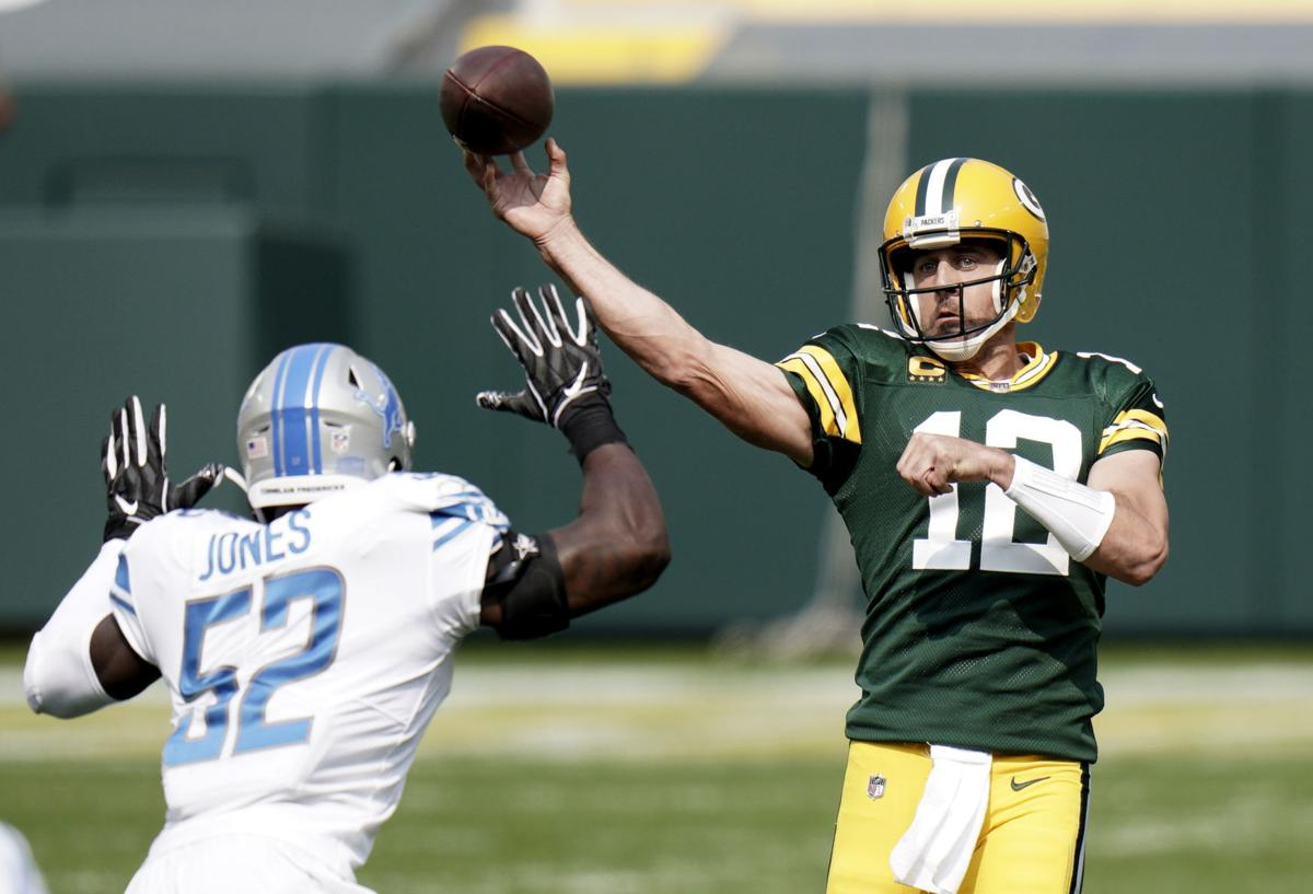 Aaron Rodgers - Packers vs. Lions