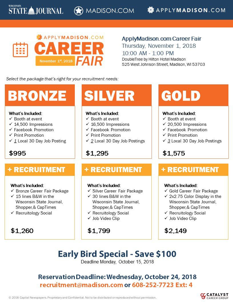 Career Pair Packages