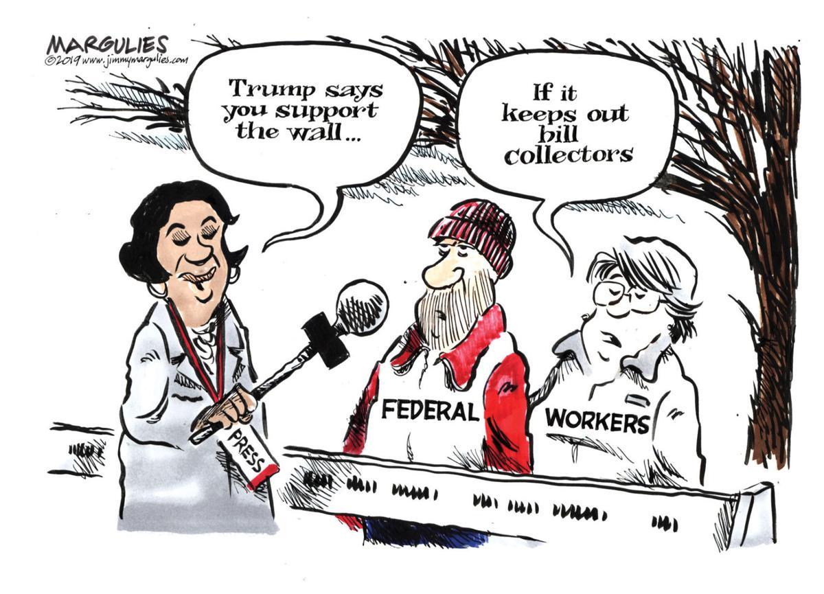 Editorial cartoon (1/15/2019)