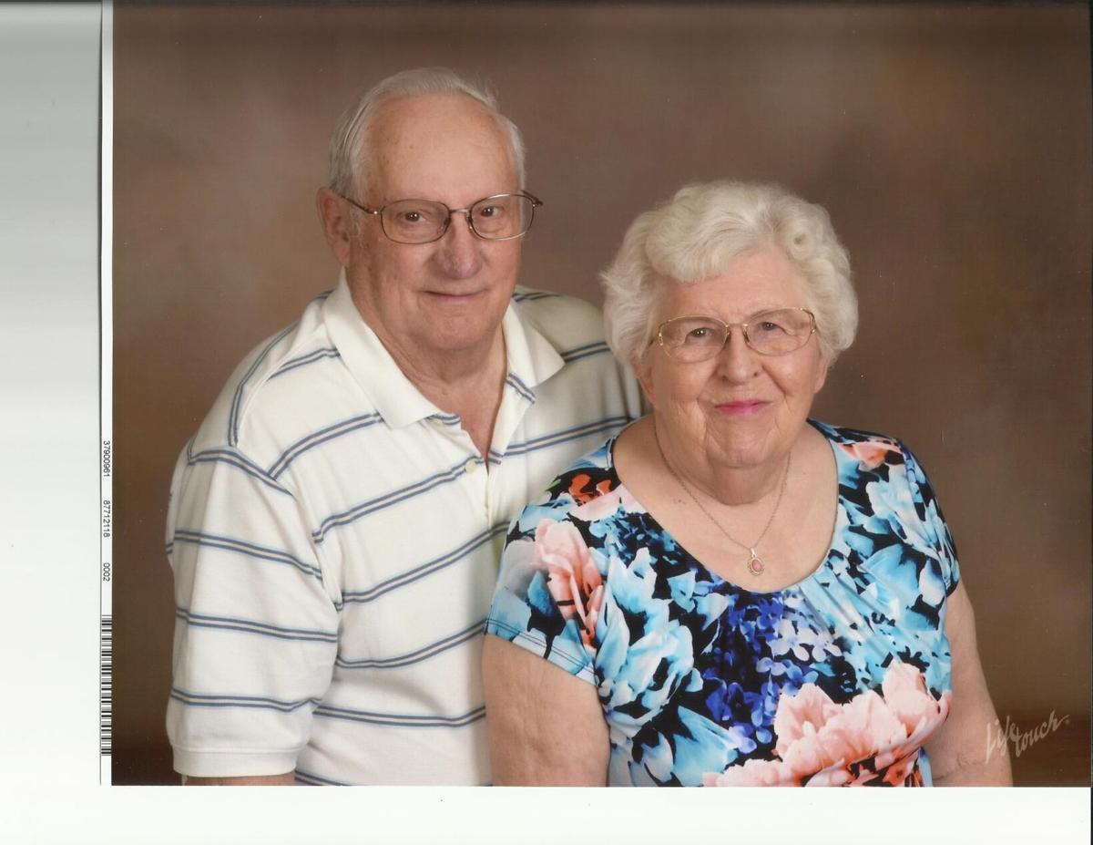 Gene and Shirley Wanless 60th Anniversary