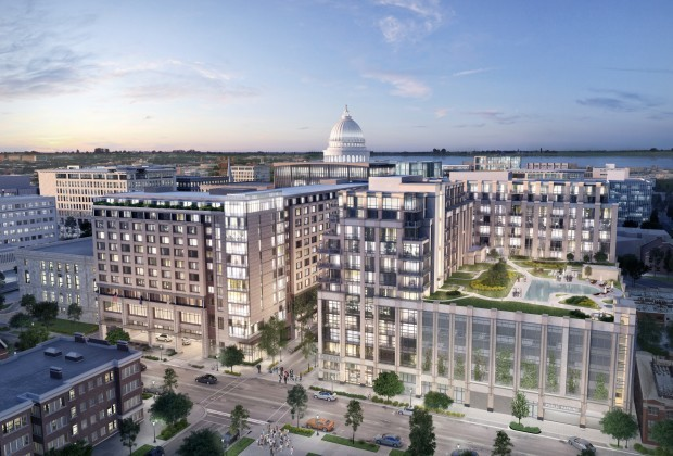 Judge Doyle Square rendering, the Journeyman Group