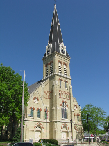 St. Bernard's Catholic Church in Watertown