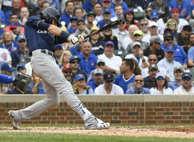 newest 293da 9e8b2 Milwaukee Brewers crowned NL Central champs after 3-1 win ...