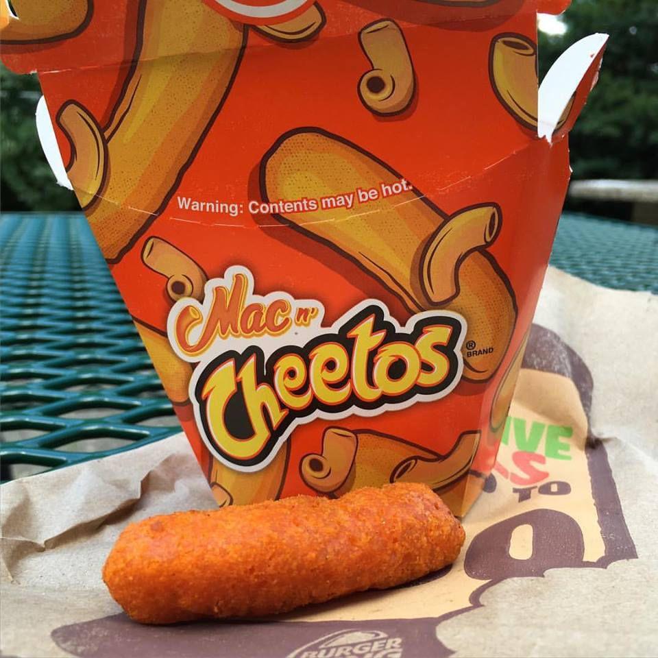 Yeah I Ate That Burger King Mac Cheetos May Not Make America