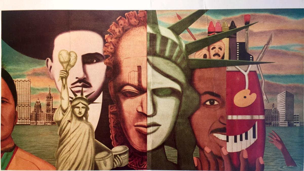 Reynaldo Hernandez mural