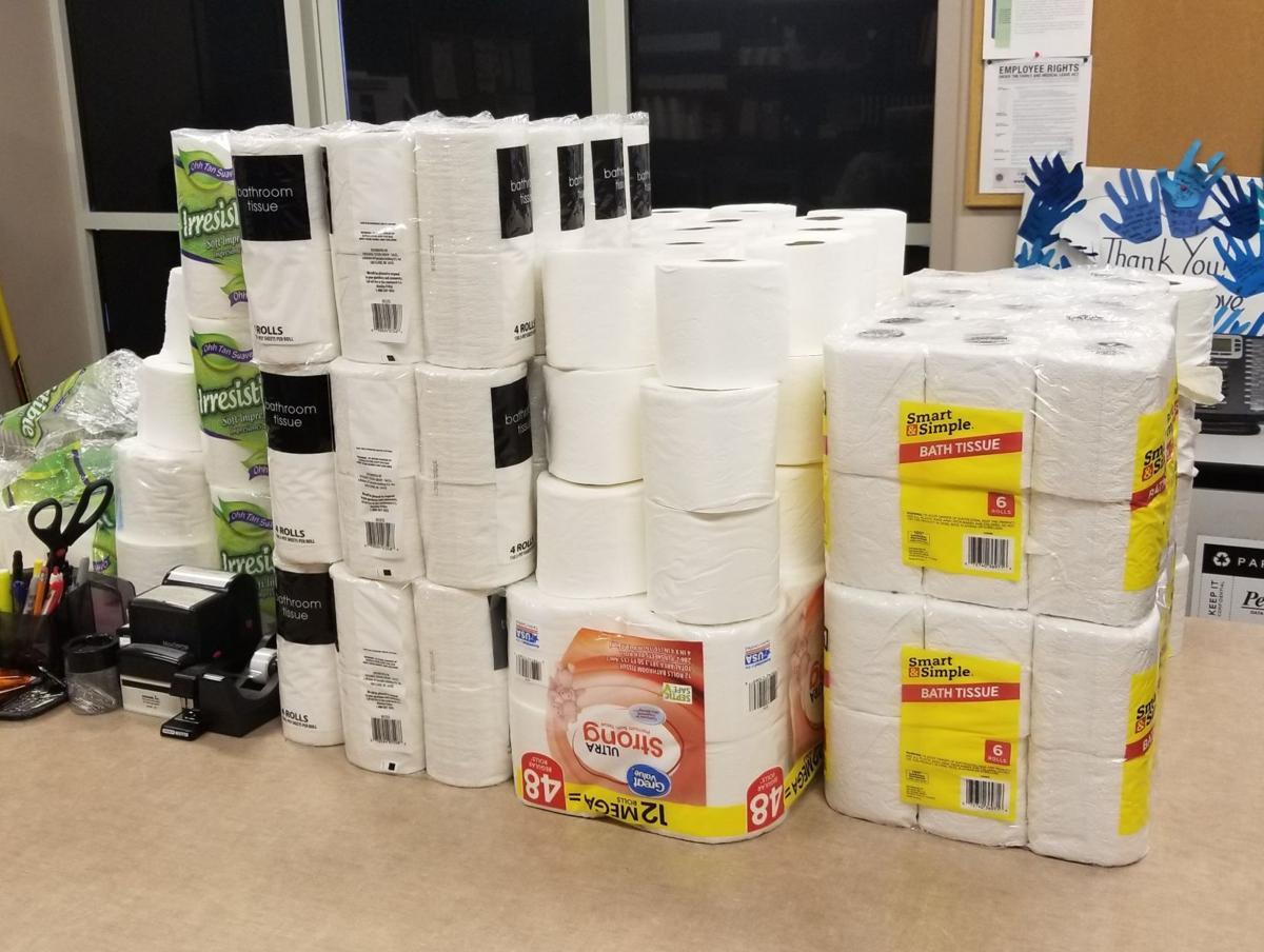 Cottage Grove toilet paper haul