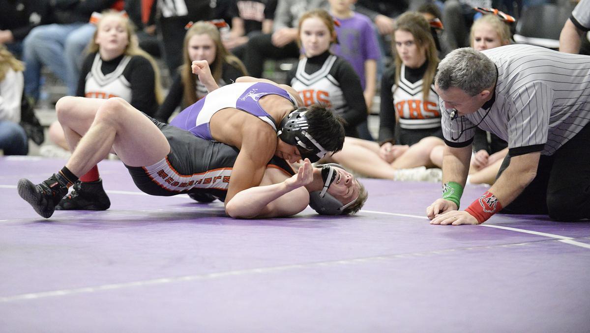 Prep wrestling photo: Stoughton's Nicolar Rivera