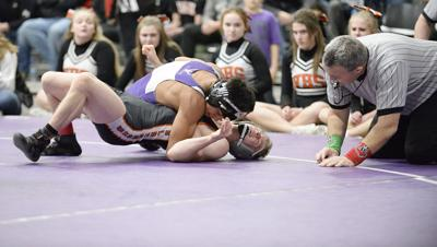 Prep wrestling photo: Stoughton's Nicolar Rivera