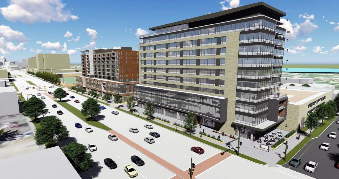 East Washington development rendering